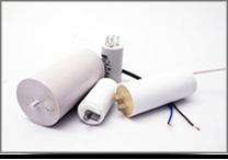 Állandó üzemű és indító kondenzátorok