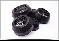 Fém és műanyag ventilátor burkolatok