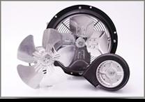 Axiális és radiális ventilátorok, járókerekek